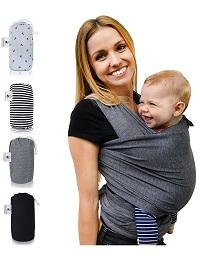 Babytragetuch - Fastique Kids Modernes und elastisches Tragetuch für Frühgeborene und Neugeborene Kleinkinder