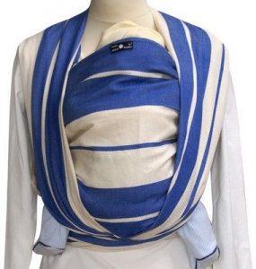 Didymos Babytragetuch blau - angenehm zu tragen