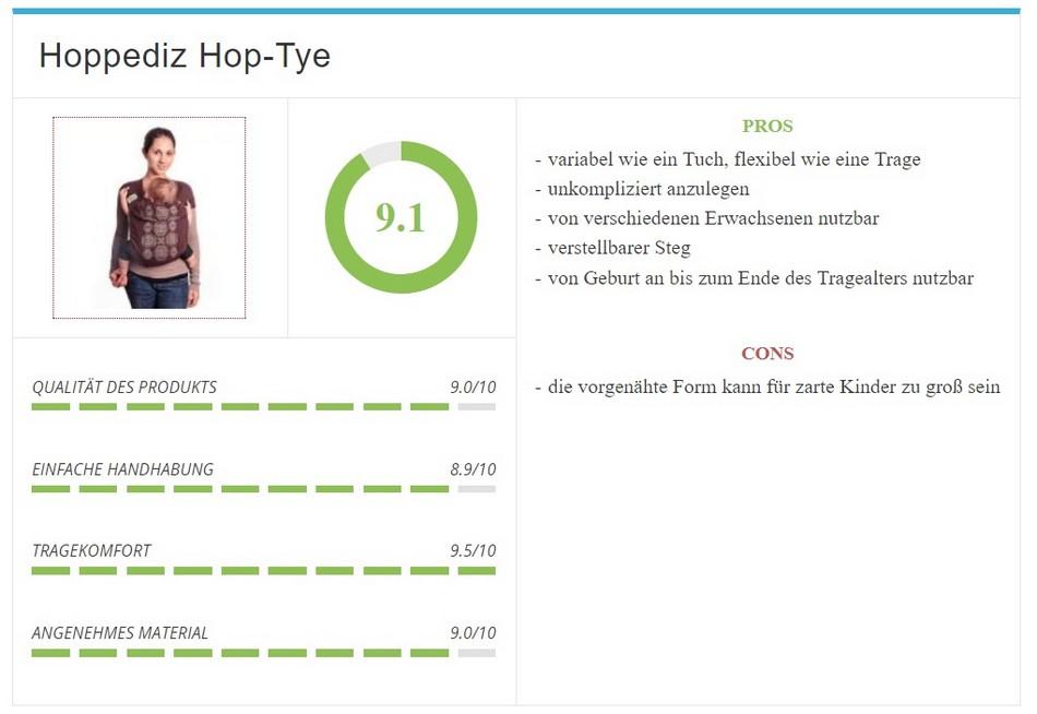 Babytragetuch - Hoppediz Hop-Tye im Test