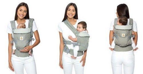 ERGObaby BCAPEALTBL Babytrage Kollektion Adapt, 3.2 - 20 kg,