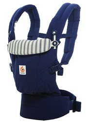 Ergobaby Babytrage Kollektion Adapt (3,2 - 20 kg), Admiral Blue