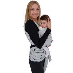 Fastique Kids® Babytragetuch - elastisches Tragetuch für Früh- und Neugeborene Kleinkinder