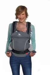 manduca Baby und Kindertrage, Bauch Hüft- und Rückentrage, Modell PureCotton Dark
