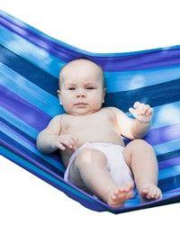 Babytragetuch kann als Babyhängematte verwendet werden