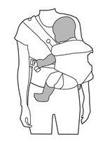 Hüfttrage - Babytrage