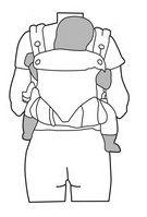 Rückentrage - Babytrage