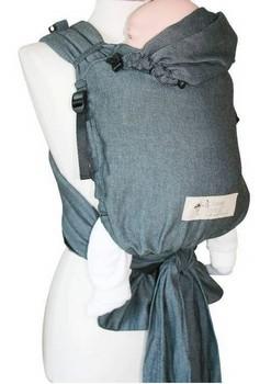 Storchenwiege Babytrage graphite